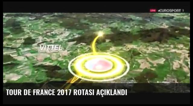 Tour de France 2017 Rotası açıklandı
