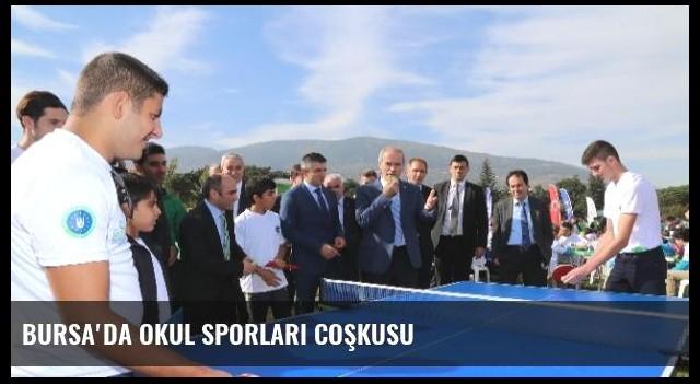 Bursa'da Okul Sporları Coşkusu