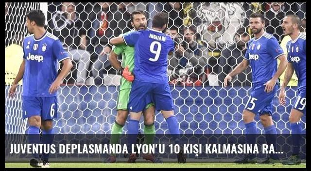 Juventus Deplasmanda Lyon'u 10 Kişi Kalmasına Rağmen 1-0 Yendi
