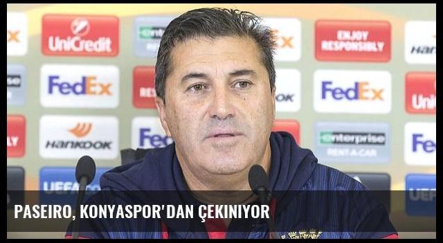 Paseiro, Konyaspor'dan çekiniyor