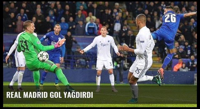 Real Madrid gol yağdırdı