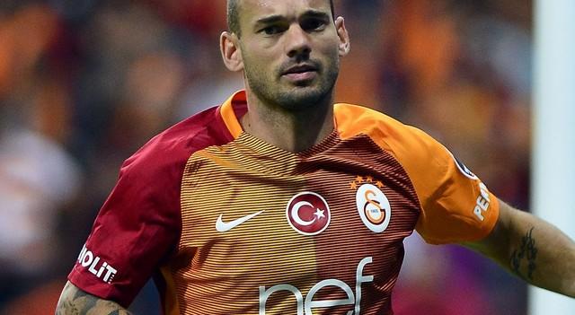 Galatasaray'a Sneijder'den sevindirici haber!