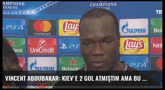 Vincent Aboubakar: Kiev'e 2 Gol Atmıştım Ama Bu Kadar Değerli Değildi