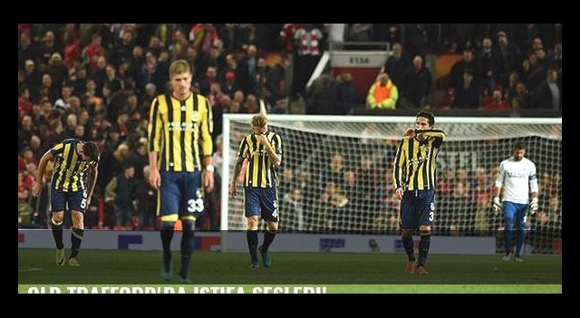 Old Trafford'da istifa sesleri!