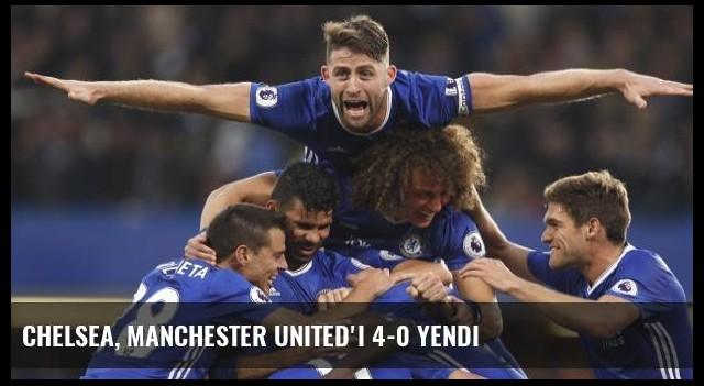 Chelsea, Manchester United'ı 4-0 Yendi