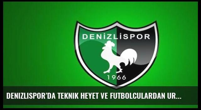 Denizlispor'da teknik heyet ve futbolculardan Urkay'a destek