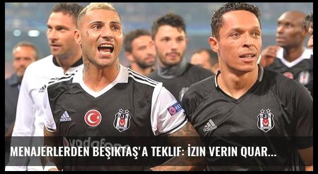 Menajerlerden Beşiktaş'a Teklif: İzin Verin Quaresma'yı 15 Milyon Euro'ya Satalım