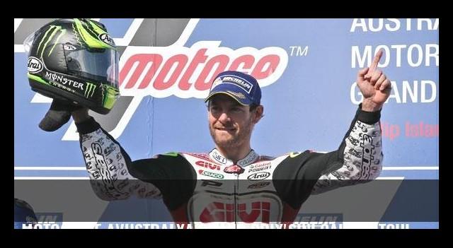 MotoGP'de Avustralya Grand Prix'sini Cal Crutchlow kazandı