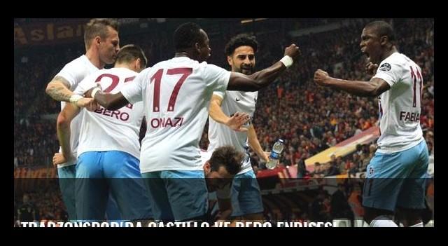 Trabzonspor'da Castillo ve Bero endişesi