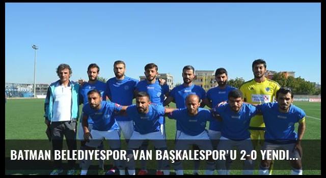 Batman Belediyespor, Van Başkalespor'u 2-0 Yendi