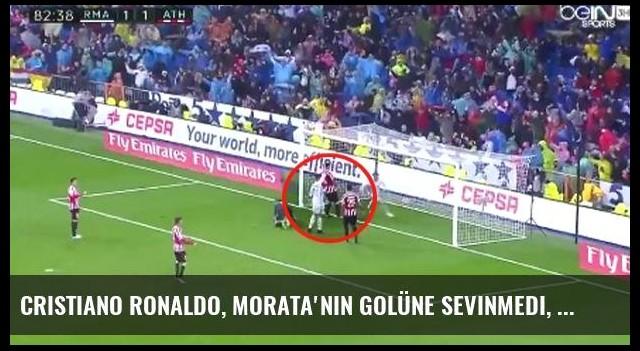 Cristiano Ronaldo, Morata'nın Golüne Sevinmedi, 'Ofsayt' İşareti Yaptı