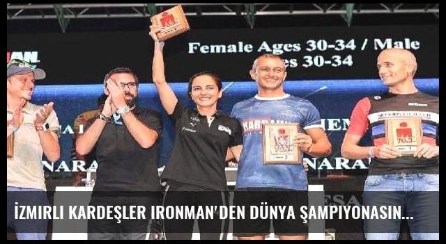 İzmirli kardeşler Ironman'den dünya şampiyonasına