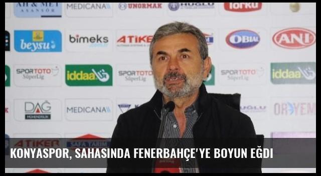 Konyaspor, Sahasında Fenerbahçe'ye Boyun Eğdi