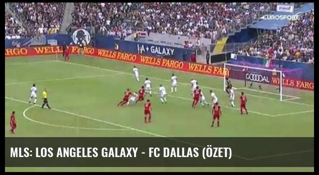 Mls: Los Angeles Galaxy - Fc Dallas (Özet)