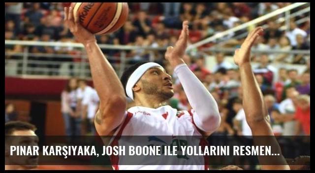 Pınar Karşıyaka, Josh Boone ile yollarını resmen ayırdı