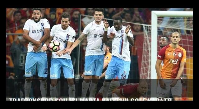 Trabzonspor son iki maçta kalesini gole kapattı