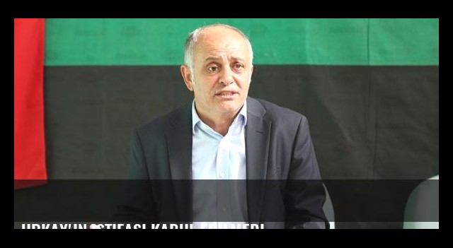 Urkay'ın istifası kabul edilmedi