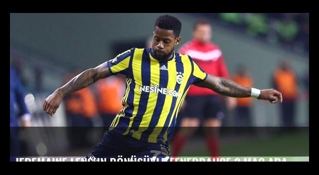 Jeremaine Lens'in dönüşüyle Fenerbahçe 3 maç aradan sonra kazandı