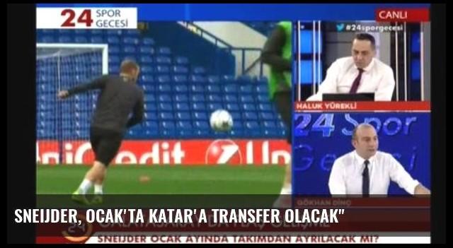 Sneijder, Ocak'ta Katar'a Transfer Olacak'