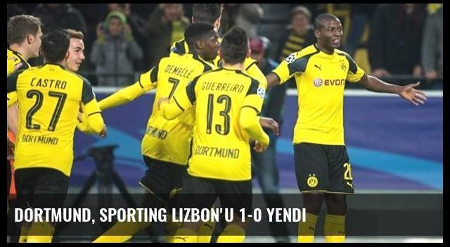 Dortmund, Sporting Lizbon'u 1-0 Yendi