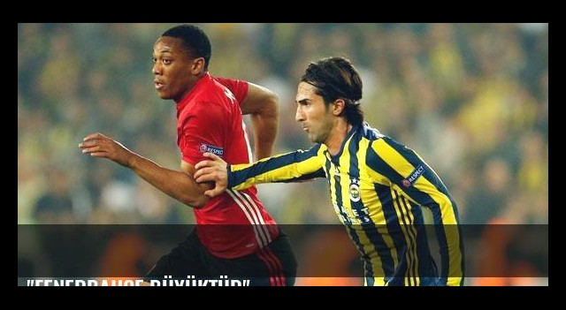 'Fenerbahçe büyüktür'