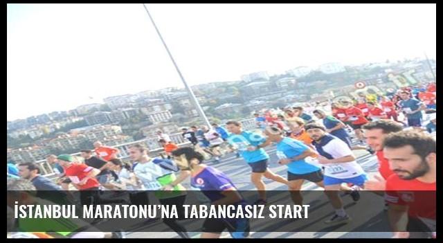 İstanbul Maratonu'na tabancasız start