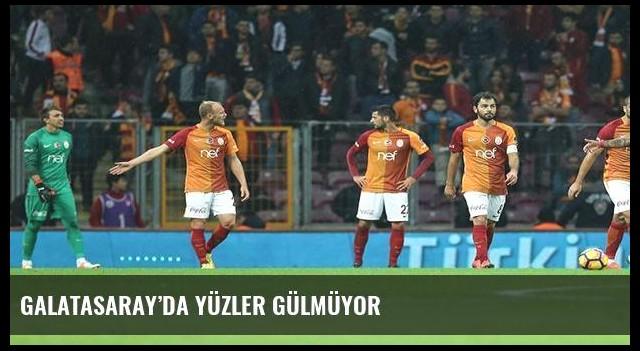 Galatasaray'da yüzler gülmüyor