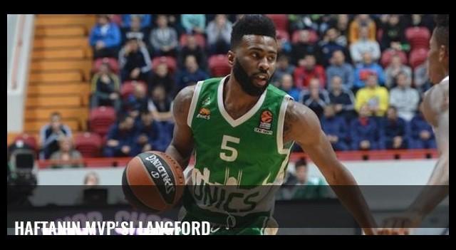 Haftanın MVP'si Langford