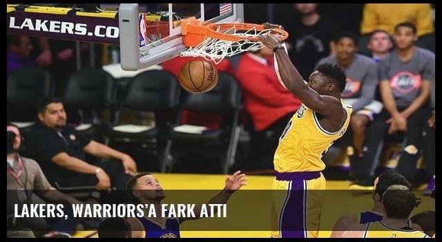 Lakers, Warriors'a fark attı