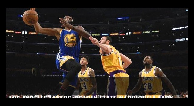 Los Angeles Lakers, Golden State Warriors'a fark attı