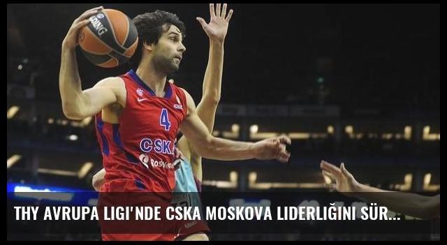 THY Avrupa Ligi'nde CSKA Moskova liderliğini sürdürdü
