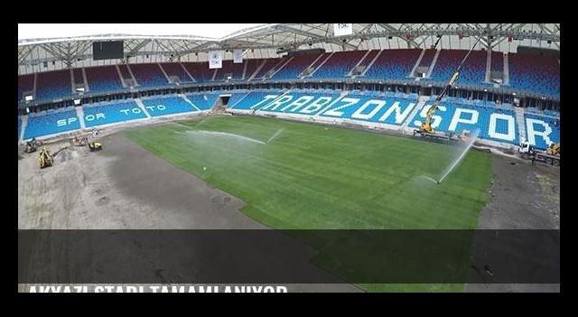 Akyazı Stadı tamamlanıyor
