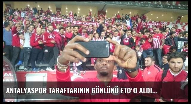 Antalyaspor Taraftarının Gönlünü Eto'o Aldı