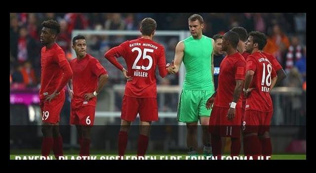 Bayern, plastik şişelerden elde edilen forma ile maça çıktı