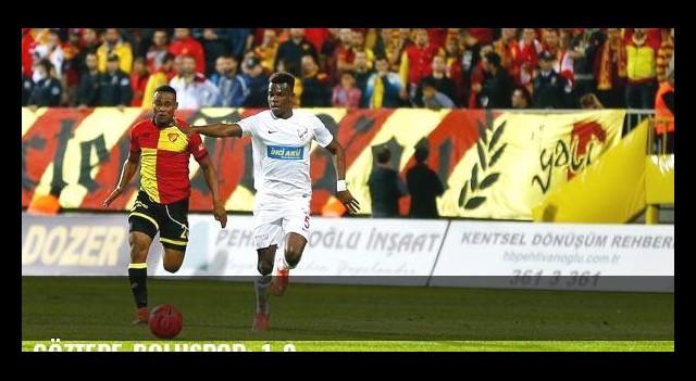 Göztepe-Boluspor: 1-0