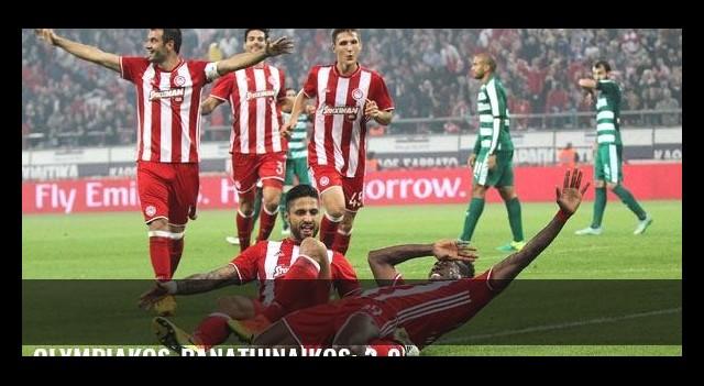 Olympiakos-Panathinaikos: 3-0