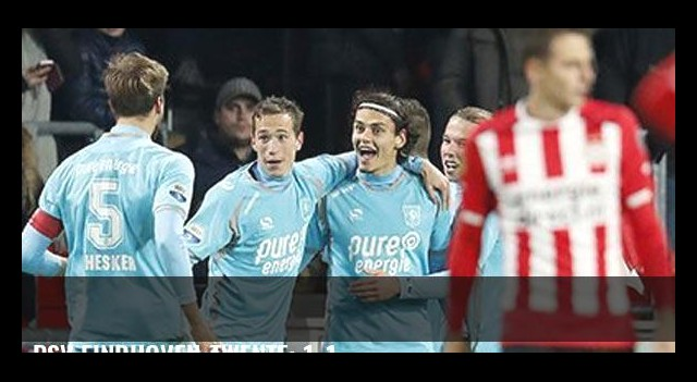 PSV Eindhoven-Twente: 1-1