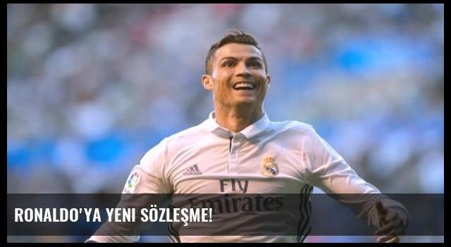 Ronaldo'ya yeni sözleşme!