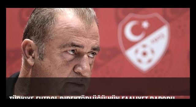 Türkiye Futbol Direktörlüğü'nün faaliyet raporu açıklandı!
