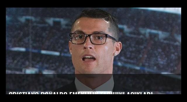 Cristiano Ronaldo emeklilik tarihini açıkladı