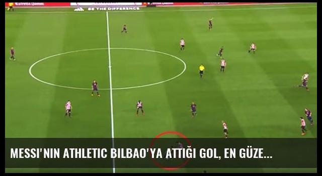 Messi'nin Athletic Bilbao'ya Attığı Gol, En Güzel Gol Seçildi