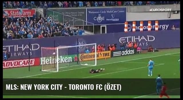 Mls: New York City - Toronto Fc (Özet)