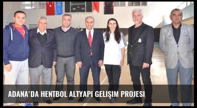 Adana'da hentbol altyapı gelişim projesi