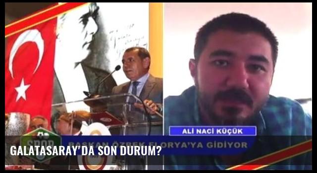 Galatasaray'da Son Durum?