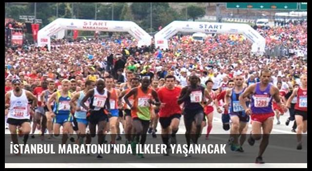 İstanbul Maratonu'nda ilkler yaşanacak
