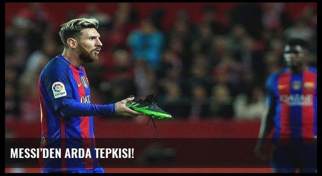 Messi'den Arda tepkisi!