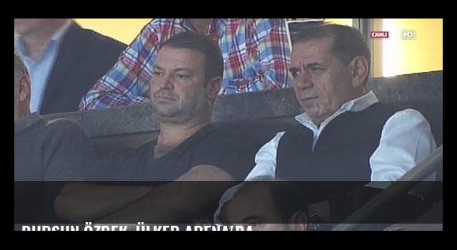 Dursun Özbek, Ülker Arena'da