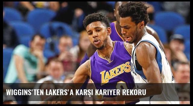 Wiggins'ten Lakers'a karşı kariyer rekoru