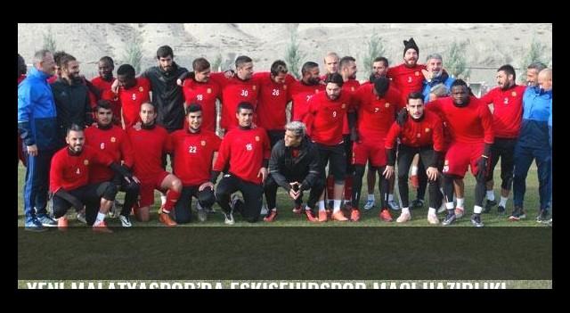 Yeni Malatyaspor'da Eskişehirspor maçı hazırlıkları sürüyor