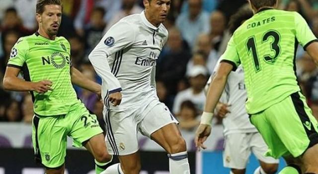 Sporting Lizbon-Real Madrid maçı şifresiz yayınlanacak